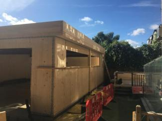 Cross Laminated Timber (CLT) New Classroom Block Nears Completion