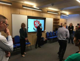H A Marks Deliver another successful Education Project